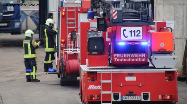 Almanya'da maden ocağında patlama: İşçiler göçük altında kaldı