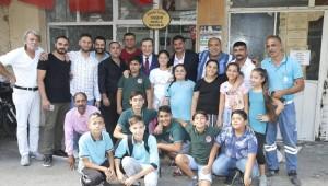 """Batur'a """"En Roman Dostu Belediye Başkanı""""ödülü"""