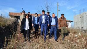 Belediye Başkanımız Nurhan Yapıcı Özel, ilçemize yeni atanan İlçe Kaymakamız Sedat Sezik'in mahalle ziyaretlerine eşlik etti.