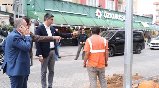 Kartal'da Sokak Ve Cadde Aydınlatma Çalışmaları Devam Ediyor