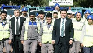 Kepez'in çalışanı çok şanslı
