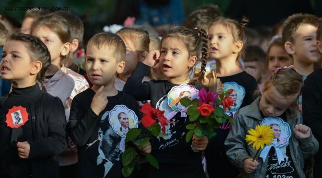 Muratpaşa'nın küçükleri Atatürk'ü andı
