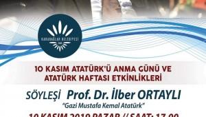 Prof. Dr. İlber Ortaylı Karabağlar'ın Konuğu