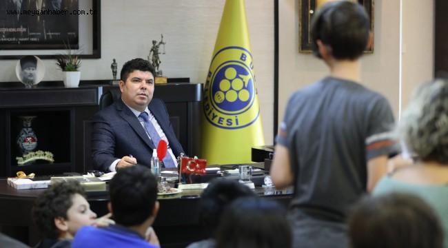 Şehri şekillendirmek için Başkan Kılıç'tan öneri aldılar