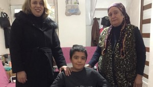 Küçük Efe'nin Yüzü Büyükşehir'le Güldü
