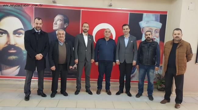 MHP Buca'dan Cemevi Ziyareti