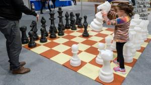 Satranç severler Lezzetli Kış Şöleni'nde
