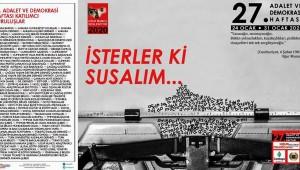 ADALET VE DEMOKRASİ HAFTASI ÇANKAYA'DA BAŞLIYOR