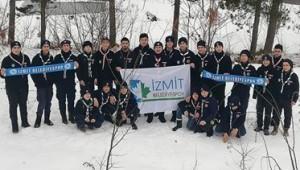 İzmit Belediyesporlu izciler kış kampına hazırlandı