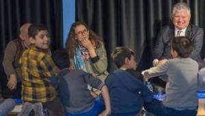Ünlü çocuk kitapları yazarı Asa Lind'den İzmirli çocuklara mesaj.