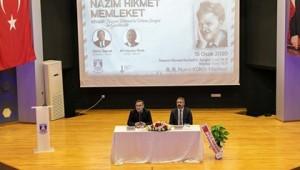 Vatan şairi Nazım Hikmet Ran, doğum yıldönümü olan 15 Ocak'ta Bodrum'da anıldı.
