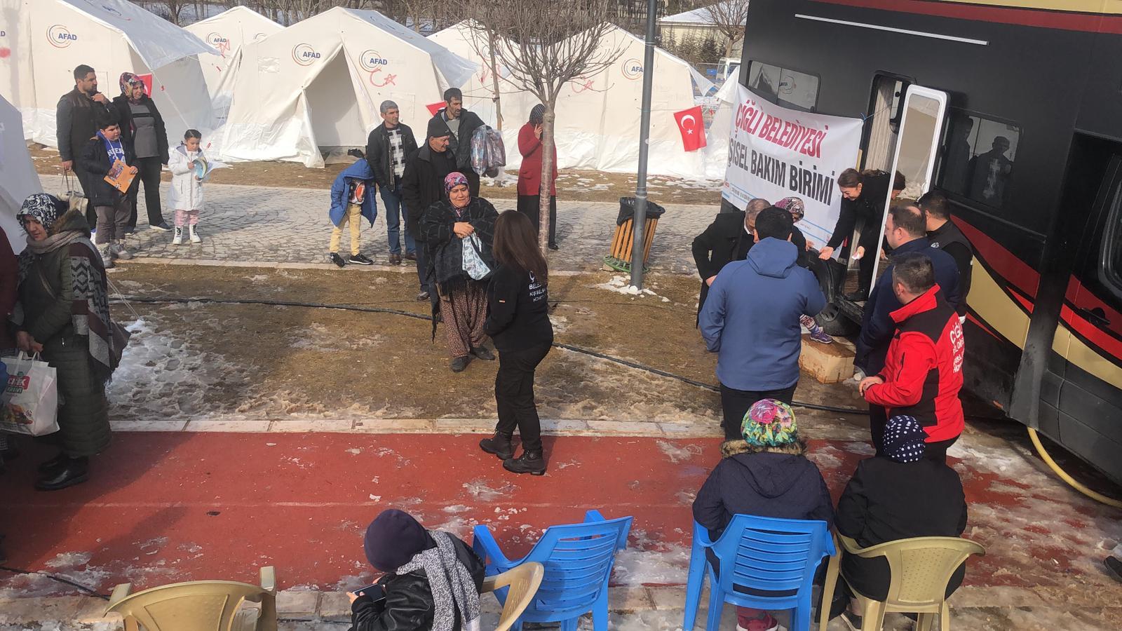 Başkan Utku Gümrükçü ikinci kez Elazığ'da