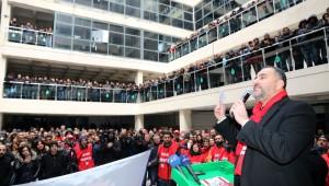 Çankaya Belediye Başkanı Alper Taşdelen çalışma arkadaşlarıyla buluştu…