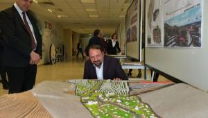 Çiğli'de Kentsel Tasarım Projeleri Sergisi