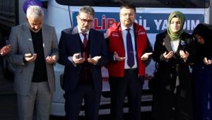 İdlib'e 6 Tır Dolusu Yardım