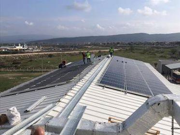 İzmir'dedörttesise daha güneşenerjisi