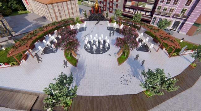 Kemalpaşa'nın simgeleri arasında yer alan Atatürk Meydanı yeni bir çehre kazanacak