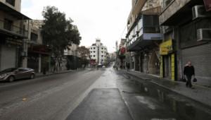 Ürdün'de sokağa çıkma yasağı başladı