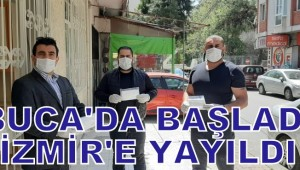BUCA'DA BAŞLADI İZMİR'E YAYILDI