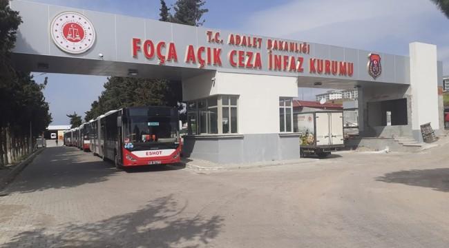 Foça Açık Ceza İnfaz Kurumundan 1247 kişi izinli olarak ayrılıyor