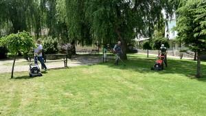 Gönüllü Bahçelerinde Bakım Çalışması