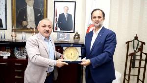 Başkan Esen, Türk Kızılay'ı Ağırladı