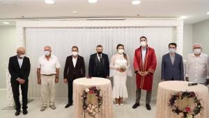 Başkan Gökhan Yüksel Kartallı Gazeteci Halil Topal'ın Nikâhını Kıydı