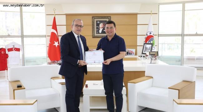 Kepez'in Belediye Tıp Merkeziruhsatını aldı