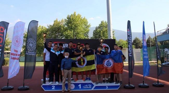 Osmangazili Atletler Şampiyonaya Damga Vurdu