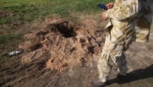 Trablus'un güneyinde mayın patlaması sonucu 3 çocuk yaralandı