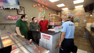 Yenimahalle'de dondurma mesaisi