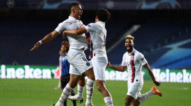 Paris Saint-Germain yarı finale yükselen taraf oldu