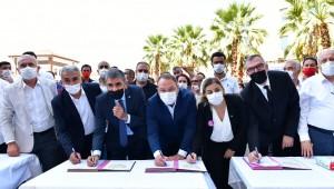 Çiğli'de İzmir'in en yüksek oranlı toplu iş sözleşmesi imzalandı
