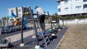 Ergene Belediyesi Parkları Yeniliyor