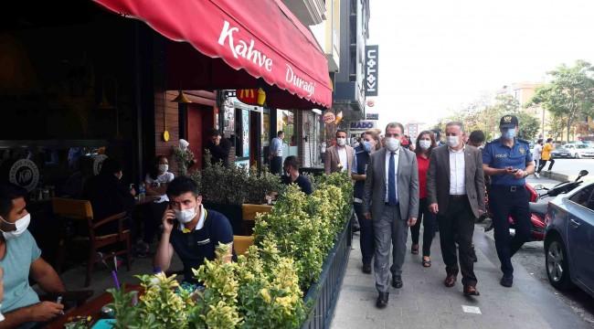 Kafe ve restoranlar mercek altına alındı