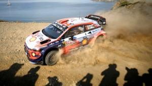 WRC'nin 5. yarışı Türkiye Rallisi'nde ikinci gün