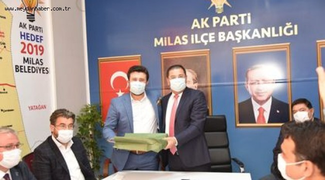 BAŞKAN TOKAT'TAN SİYASİ PARTİLERE ZİYARET