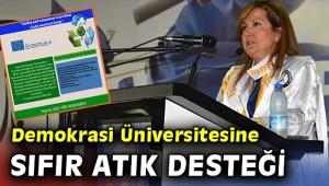 DEMOKRASİ ÜNİVERSİTESİ'NİN SIFIR ATIK BAŞARISI