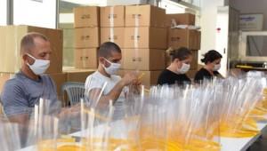 Siperlikli maske üretimi yeniden başladı