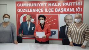 CHP Güzelbahçe Kadın Kolları Başkanı Aydar: Kadına yönelik şiddet politiktir
