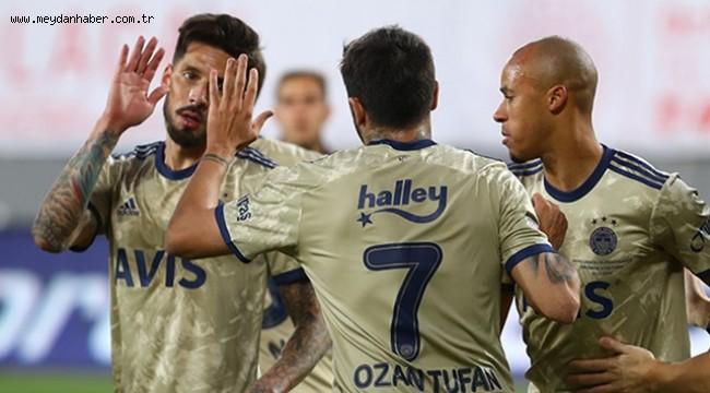 Fenerbahçe deplasman kabusunu geride bıraktı
