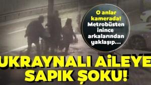 İstanbul'da Ukraynalı aileye taciz!!