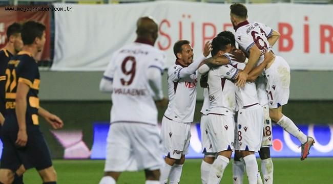 Trabzonspor Ankara'da tek golle kazandı
