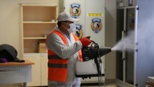 Kartal' da, 11 Milyon Metrekare Kapalı Alan Dezenfekte Edildi