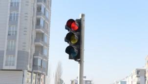 Belediyeden Söğütlüevler'de sinyalizasyon çalışması