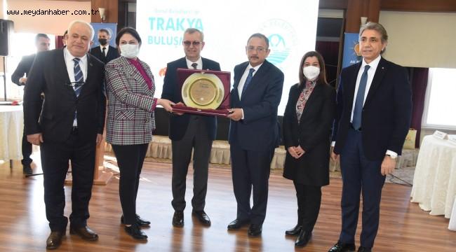 Gönül Belediyeciliği Trakya buluşması Keşan'da gerçekleştirildi