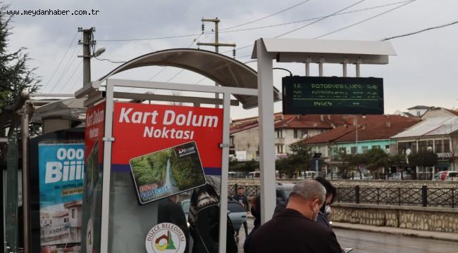 OTOBÜS DURAKLARI AKILLANIYOR