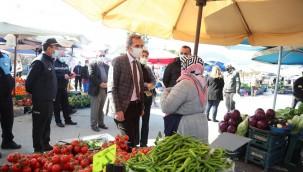 Urla Belediye Başkan Vekili Dayanç çalışmaları yerinde inceledi