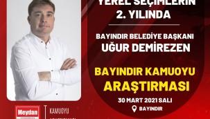 YEREL SEÇİMLERİN 2. YILINDA BAYINDIR'DA SON DURUM...