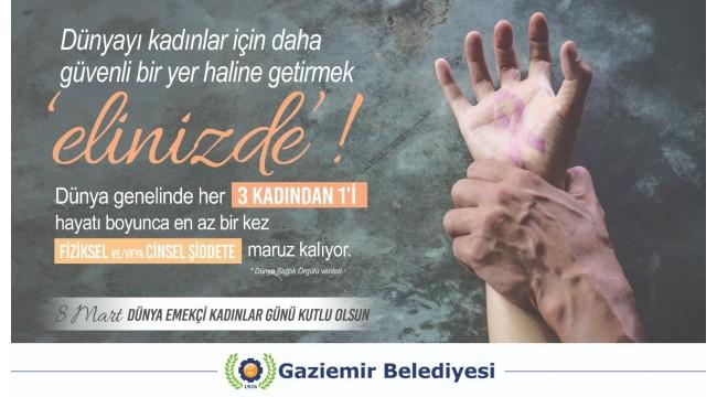 """Kadınlar için güvenilir dünya yaratmak """"elinizde""""!"""